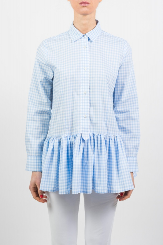Light Blue Vichy Shirt