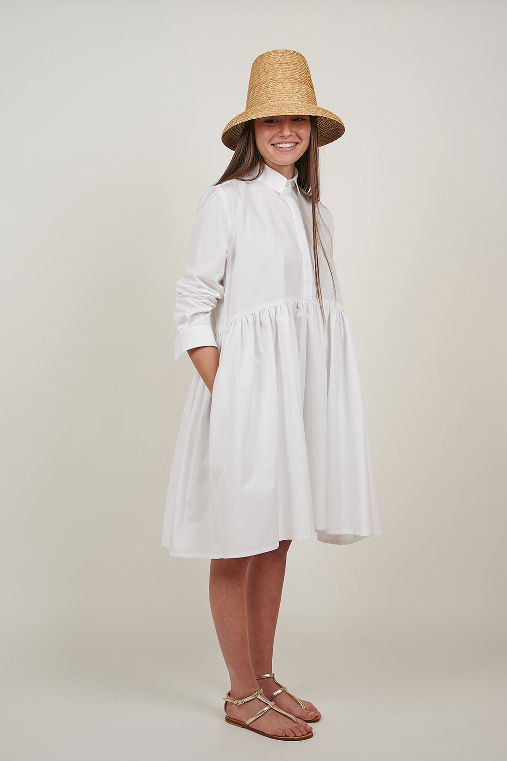 White Bon Chic Dress