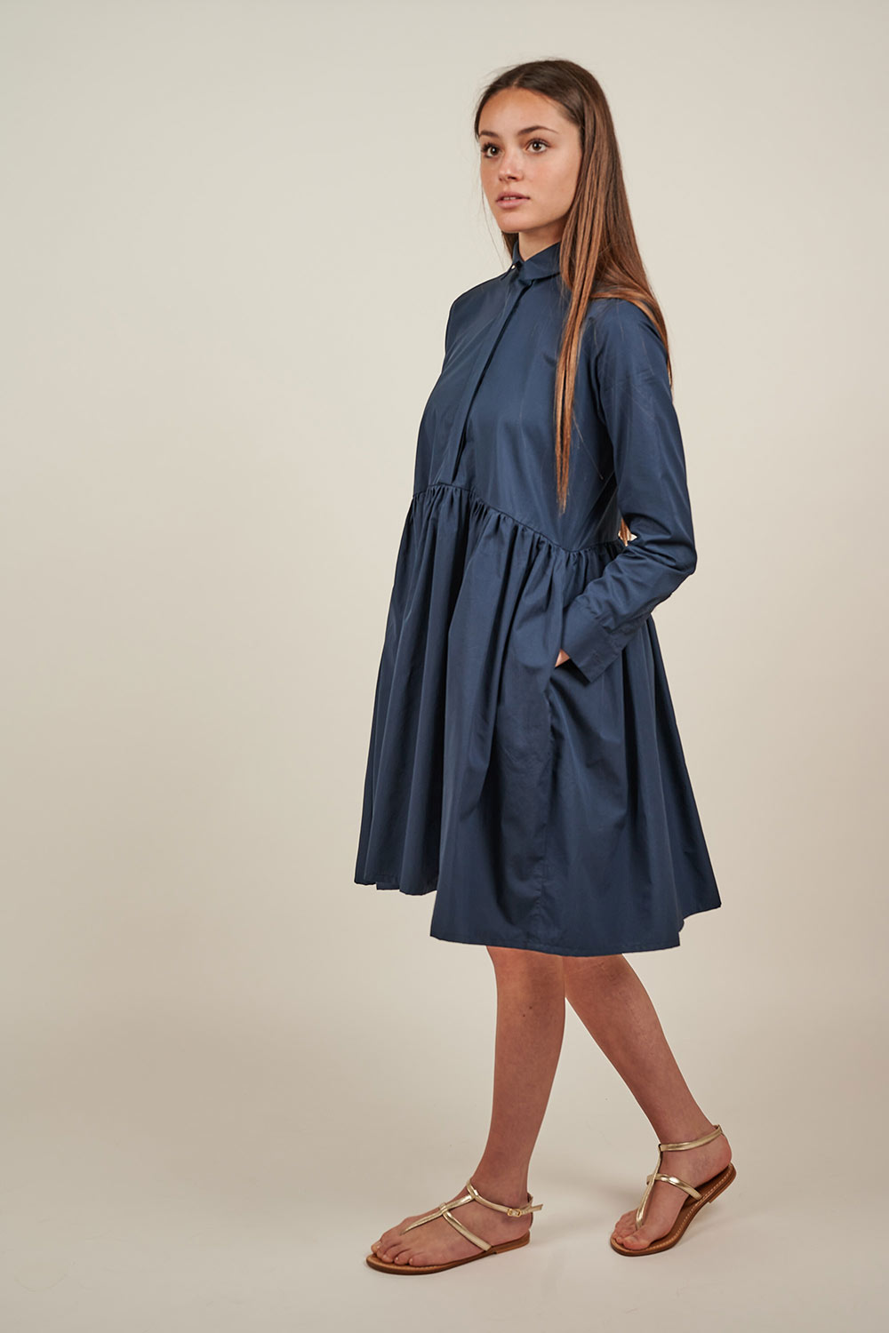 Blue Bon Chic Dress