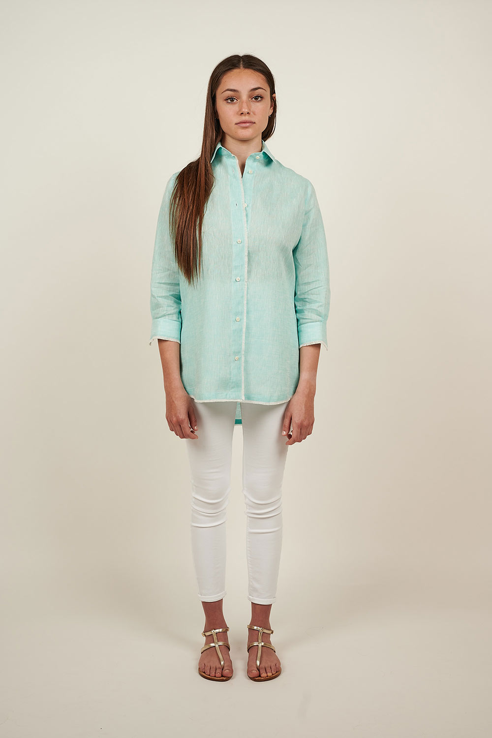 Jade Green Shirt