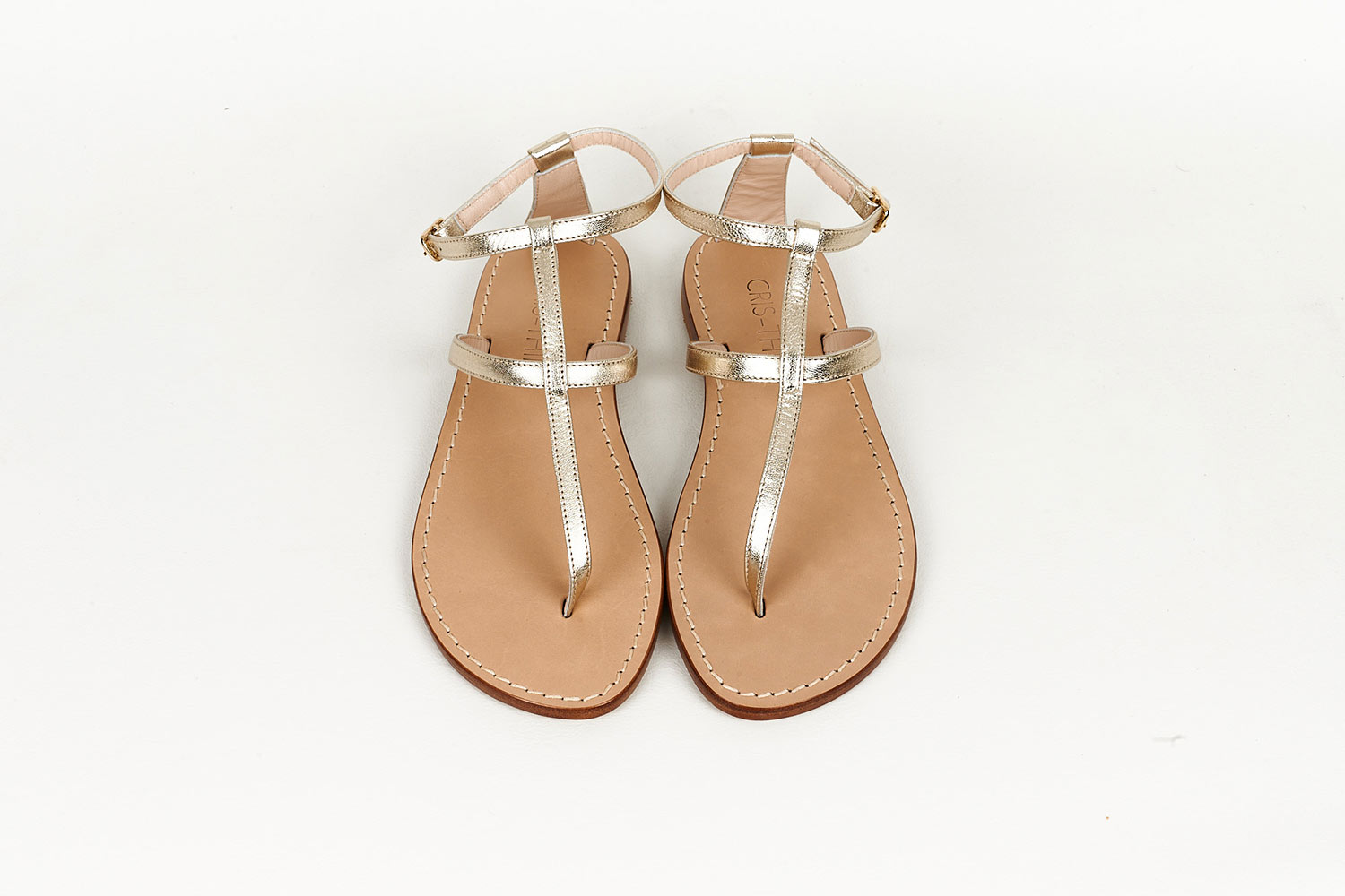 Platinum Capri Sandals